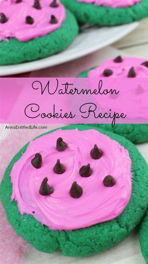 summer cookies ideas  pinterest fruit cookies