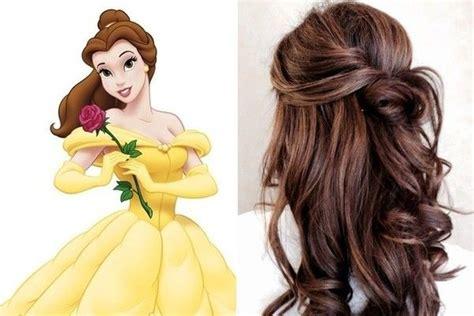 belle beauty   beast belle hairstyle princess