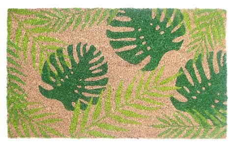 Tropical Doormats by Tropical Palm Coir Doormat Home Home Decor