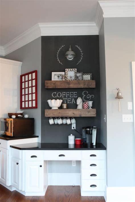 Kitchen Corner Bar Ideas by Desk Turned Coffee Bar Future Castle Coffee Bar Home