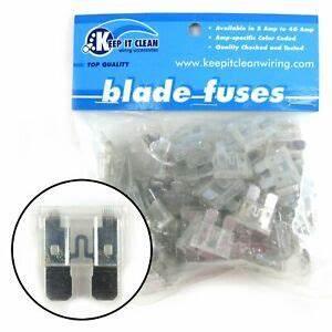 Custom Hot Rod Fuse Box : 25 amp atc blade fuses bag 100 keep it clean atc25 rat ~ A.2002-acura-tl-radio.info Haus und Dekorationen