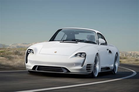 Porsche 959 Meets Mission E in Bewitching Retro-Futuristic ...