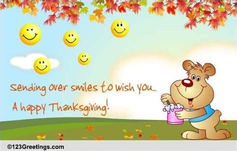 thanksgiving smileys  friends ecards greeting cards