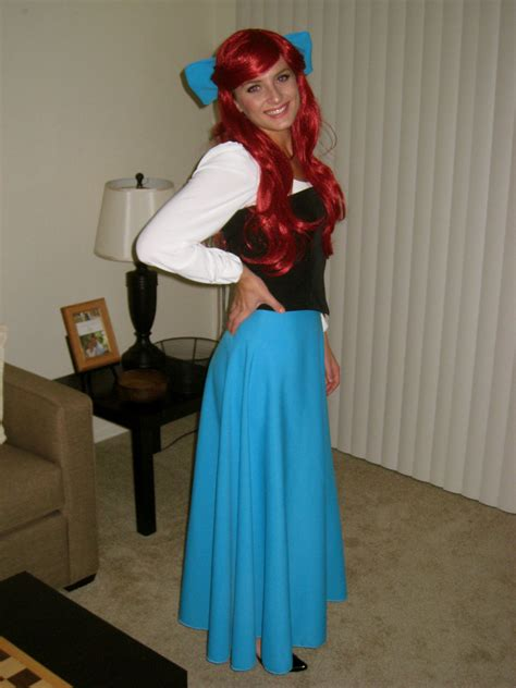 ariel costume halloween   pinterest