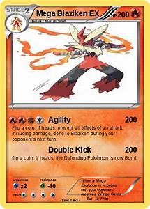 Pokémon Mega Blaziken EX 4 4 - Agility - My Pokemon Card
