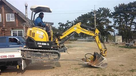 yanmar vio mini excavator youtube