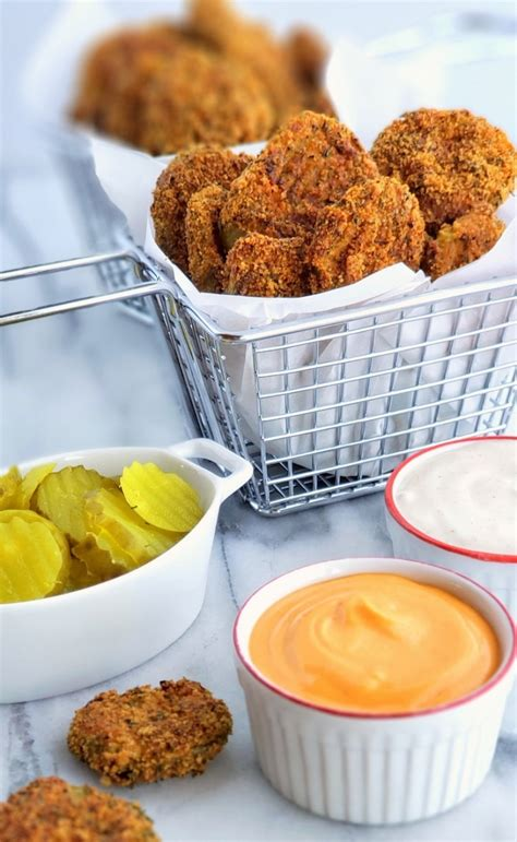 fryer air pickles low carb keto recipe recipes snack fried easy perfect lady chicken