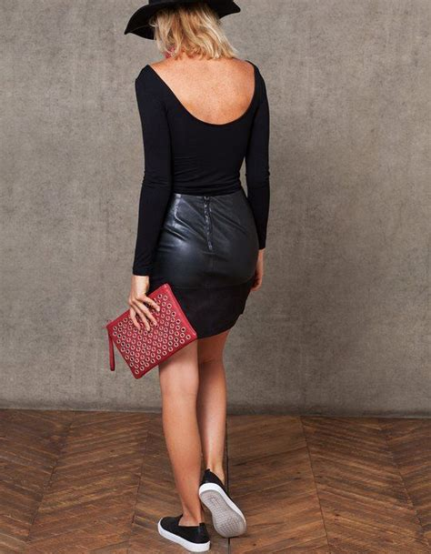 t shirt low and top with low cut back basics stradivarius