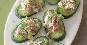 14 easy no cook appetizers that are guaranteed to impress crabs cucumber and canapes