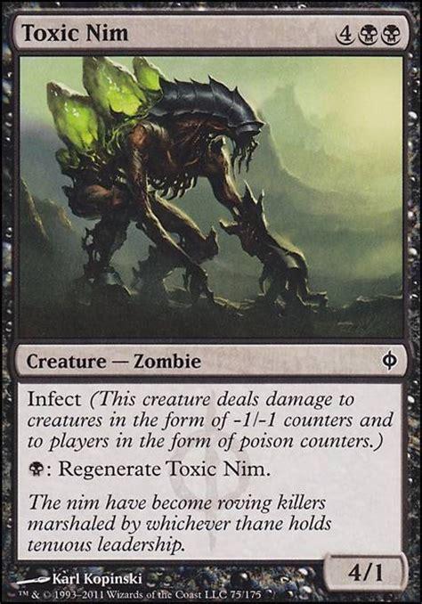 Infect Deck Mtg Legacy by Toxic Nim Nph Mtg Card