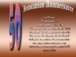 Cadeau 50 Ans De Mariage Parents : mod le carte anniversaire gratuite billet invitation mes petites cartes ~ Melissatoandfro.com Idées de Décoration