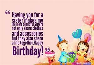 Happy Birthday To My Sister   Happy Birthday   Pinterest ...