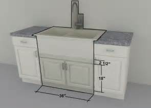 ikea custom cabinets 36 quot farm sink or gas cooktop units