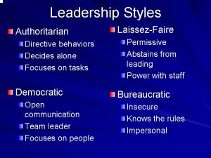 ideal leadership style usifoa