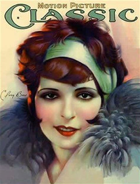 1920s Makeup Clara Bow   LONG HAIRSTYLES