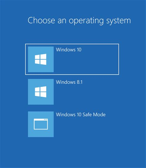 bring    choose  operating system