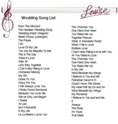 wedding songs wedding ideas wedding ceremony
