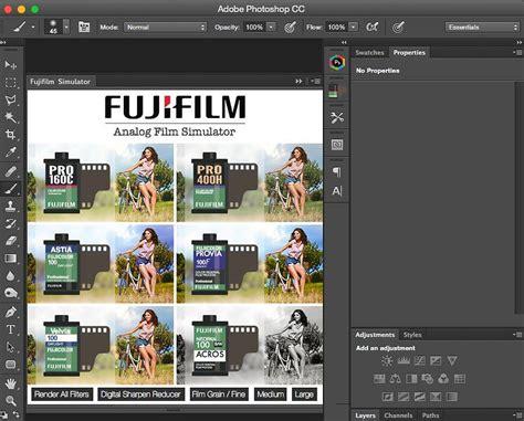 fujifilm simulator ps panel photoshop plugins