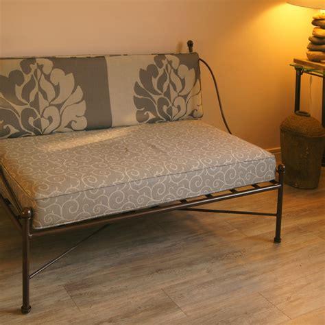 canapé lit en fer forgé canapé en fer forgé sur mesure pictures to pin on