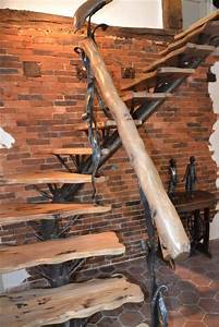Escalier Fer Et Bois : escalier fer forg et bois le val gant cr ation ~ Dailycaller-alerts.com Idées de Décoration