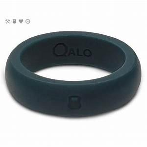 qalo slicone wedding ring classic womens slate grey at With qalo wedding ring