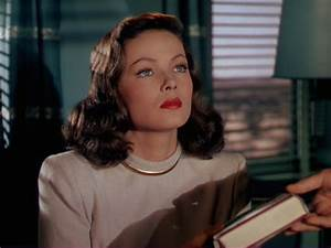 The Classics - Gene Tierney and Leave Her to Heaven ...