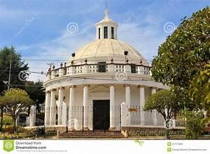 Ccolonial Building La Rotonda In Sucre, Bolivia Stock ...