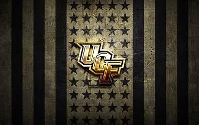 Knights Ucf Football American Ncaa Flag Metal