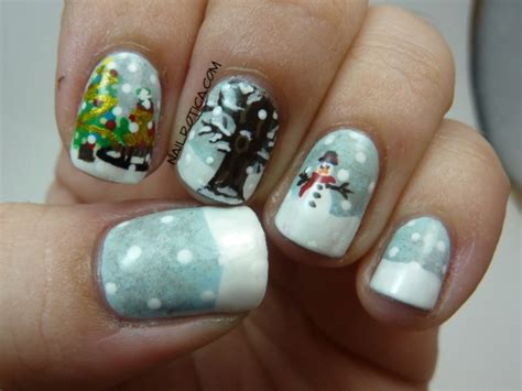 Nail Art Winter : 10 Inspiring Winter Nail Art Designs