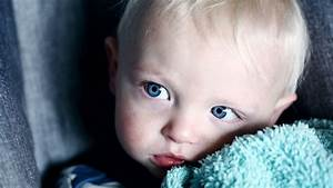 Delightful Baby Boy with Blue Eyes 5K Wallpaper   HD ...