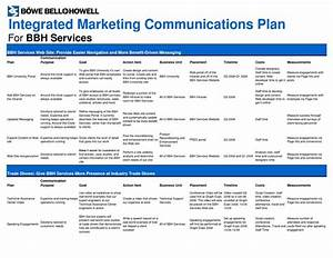 Marketing plan template google search mrktg plan info for Integrated marketing communications plan template