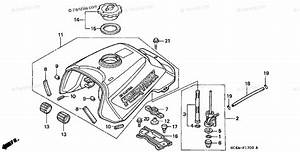 Honda Atv 1995 Oem Parts Diagram For Fuel Tank