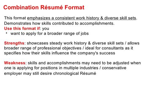 Definition Of Combination Resume by Effective Cv Resume Writing