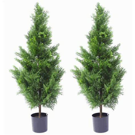 Artificial Cypress Topiary Trees  Customer Shared Photographs