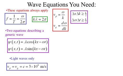 Equation For Light Tessshebaylo