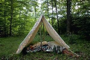 Tipi Little Nice Things : diy canvas tent the merrythought ~ Preciouscoupons.com Idées de Décoration
