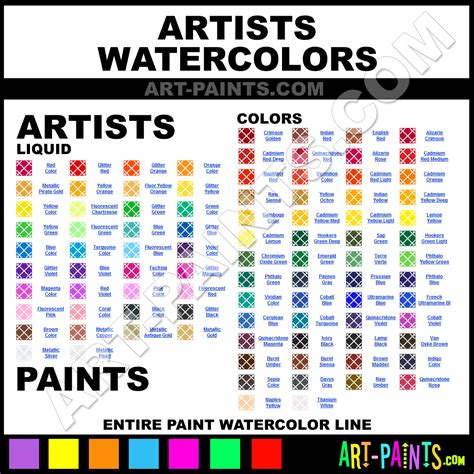 artists watercolor paint brands artists paint brands