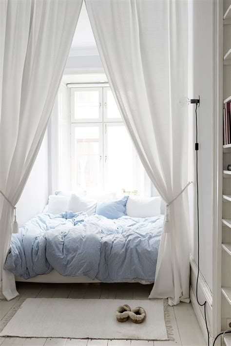 Wall Curtains Behind Bed Decorative Over Home Decor Canopy