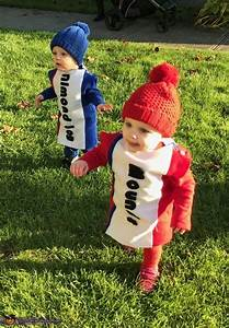 Almond Joy and Mounds Candy Bars Twin Babies Costume