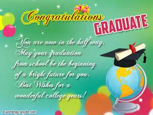 Congratulations On Graduation Message