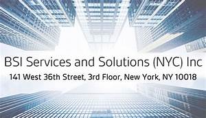 nycdob approved training courses bsi america With 78 west 36th street 3rd floor ny ny 10018