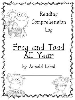 Frog and Toad All Year: Reading Comprehension Pack by