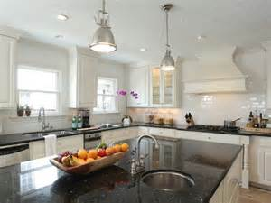 black granite counters design ideas