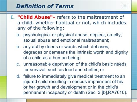 definition of preschooler deped child protection policy 667