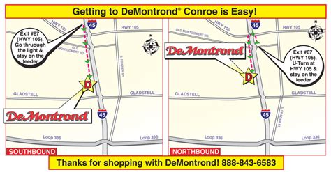 Demontrond Suzuki by Conroe Hours Directions City Directions
