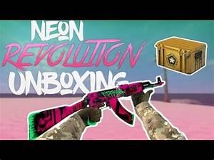 Neon Revolution Unboxing CS GO Case Opening Neon