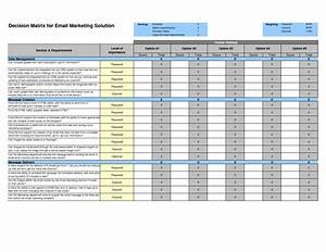 Decision matrix template beepmunk for Decision matrix template free download