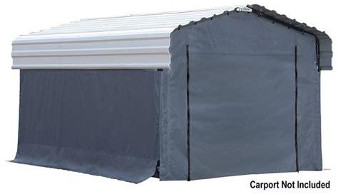 enclosure kit  arrow  metal carport
