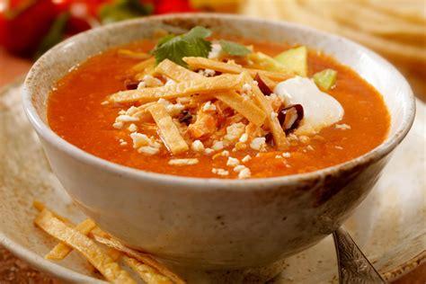 sopa azteca deliciosicom