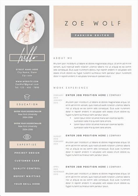 New Resume Template by The 17 Best Resume Templates Fairygodboss